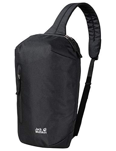 Jack Wolfskin Unisex– Erwachsene Maroubra Freizeittasche, Black, One Size