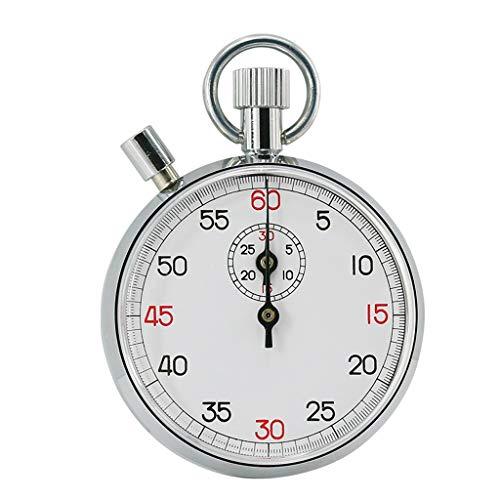 Zeitschaltuhren Mechanische Stoppuhr 504/505/803/806 Stoppuhr Leichtathletik Wettkampfsportuhr Kurzzeitmesser (Color : 60 Seconds, Größe : Pause Button)