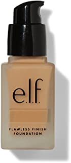 e.l.f. Flawless Finish Foundation | Lightweight, Medium Coverage & Semi-Matte | Nude | 0.68 Fl Oz (20mL) (Packaging may vary)