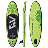 Aqua Marina Breeze Tabla de Paddle Board Sup (Verde Paddle + Bomba + Bolsa)