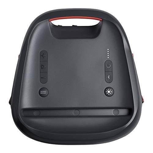 JBL PartyBox 100 in Schwarz – Tragbarer Bluetooth Party-Lautsprecher mit Lichteffekten – Spritzwassergeschützte, mobile Musikbox mit Netzteil - 2