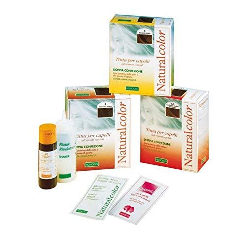 Specchiasol Homocrin Naturalcolor Tinte per Capelli, Castano Scuro - 50 gr