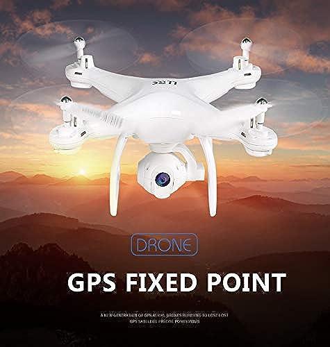 LanLan Quadcopters 8808 Drone GPS avec caméra 1080P Suivez-Moi Drones RC avec caméra Gimbal HD Auto Return 5G WiFi FPV RC Quadcopter 720P (NO 5G)