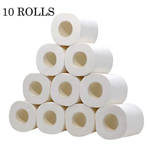 10 Rolls wit toiletpapier Keuken Thuis Roll Tissue Roll Pack Of 10 4ply Enviro Gerecycleerde papieren handdoeken Tissue