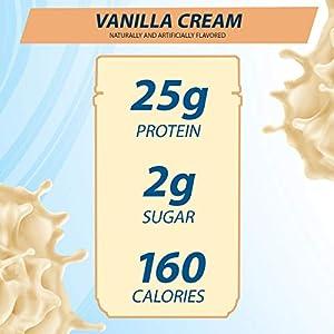 Whey Protein Powder by Pure Protein, Gluten Free, Vanilla Cream, 1.75lbs, 2 Pack