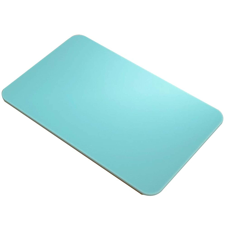 GYYARSX Door Mat Diatomaceous Earth Material Corner Stripe Texture Bathroom, 4 Colors (Color : Green, Size : 60X39CM)