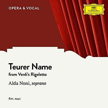 Verdi: Teurer Name