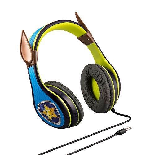 eKids Auriculares con Licencia PW-140CH de la Patrulla Canina, con limitación de Volumen Adecuada para los niños y Banda Ajustable para la Cabeza para los Mejores Extra Ligeros.