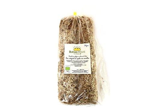 Pan ecológico artesanal con masa madre en horno de leña. Sabor tradicional exquisito. Envío GRATIS 24h. (Pan integral de espelta con semillas 750gr aprox.)