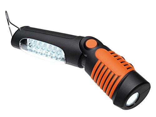 FME 67826 Lampada a LED Ricaricabile, 62563, Arancione Nero, Set di 4 Pezzi