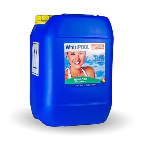 Huwa-San Whirlpool Shock Whirlpoolreiniger Systemreiniger (flüssiger Aktivsauerstoff, 10L)…
