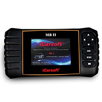 iCarsoft MBII for Mercedes Benz/Sprinter/Smart Professional Diagnostic Tool Scanner New Version