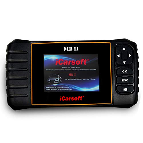 iCarsoft MBII for Mercedes Benz/Sprinter/Smart Professional Diagnostic Tool Scanner New Version