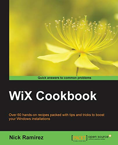 WiX Cookbook (English Edition)
