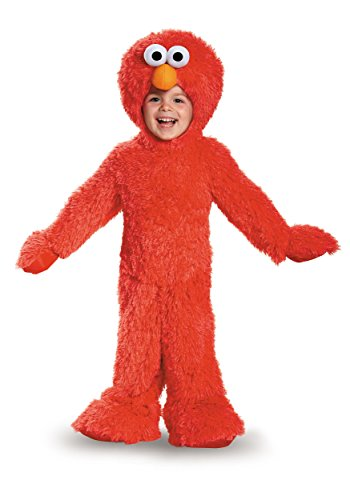 Elmo Extra Deluxe Plush Costume, Small (2T)