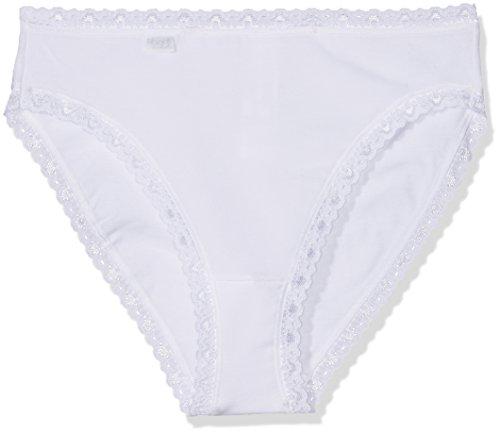 Sloggi Damen Slip 3er- Pack, 24/7 CotLac TAC3, Gr. 38, Weiß (WHITE 03)
