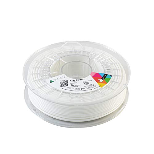 SMARTFIL PLA 3D850, 2.85 mm, IVORY WHITE, 750 g Filament for 3D Printing by Smart Materials 3D