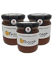 Mermelada de Naranja Amarga Ecologica y Artesanal - Tarro de 260 gr - Conservas Artesanales Contigo (Pack de 3 tarros)