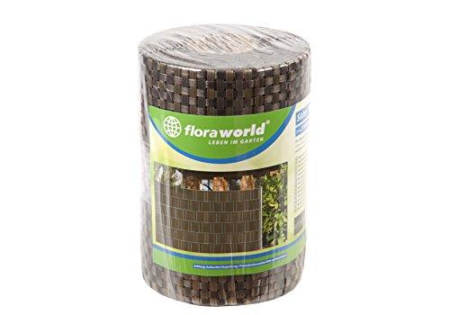 Floraworld 017192 Sicht-/ Wind- und Objektschutz Premium 5er Set, Goldbraun, 210 x 13,5 x 19 cm