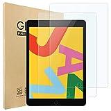 Hianjoo 2 Piezas Pantalla Protector Compatible con iPad 10.2'(2020/2019 Modelo, 8ª/7ª Generación), Premium Cristal Tablet Salvapantallas Vidrio Templado[9H Dureza][Alta Claridad][Sin Burbujas]