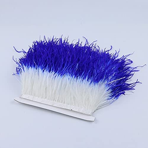 LoyalS Pink White Ostrich feather 4-6