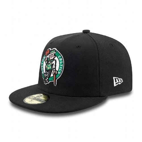 New Era - Casquette Fitted Homme Boston Celtics 59Fifty Seasbas - Taille 7