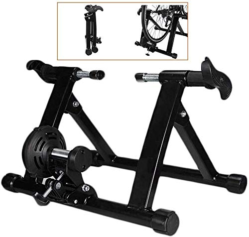 suge Bicycle Riding Exercise Machine Indoor Bike Trainer Stand - Stationary Exercise Trainer Stand - Fit 20-22' Mountain & Road Bicycle Support