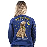 Simply Southern When It's Dark Look for The Stars Dog Long Sleeve T-Shirt