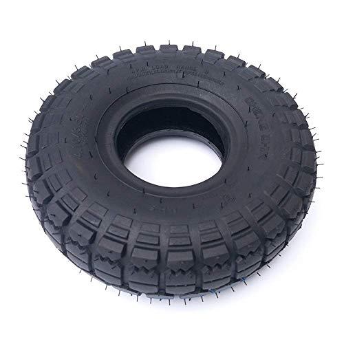 CHHD Neumáticos de Scooter eléctrico, 4.10/3.50-4 Neumáticos internos y externos, adecuados para Scooters eléctricos de 10 Pulgadas, reemplazo de neumático de Scooter de 3 Ruedas y 4