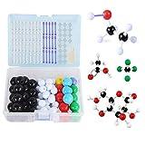 mengger Modelos Moleculares Kit 113Pcs Química Orgánica e Inorgánica Química Científica atomía Atomizador enseñanza Set de Aprendizaje Molecular Modelo Molecular