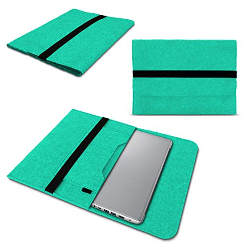NAUC Lenovo Thinkpad Yoga 370 Tasche Hülle Filz Sleeve Hülle Schutzhülle Notebook Cover, Farben:Mint