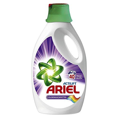 Ariel Flüssigwaschmittel Colour und Style 2.6 l, 3er Pack (3 x 40 Waschladungen)