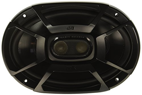 "Polk Audio DB692 DB+ Series 6""x9"" Three-Way Coaxial Speakers with Marine Certification, Black"