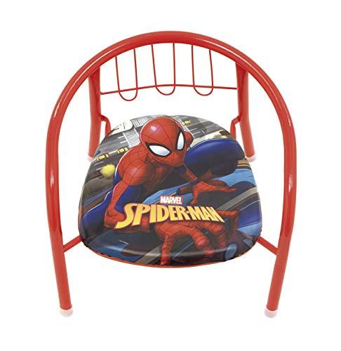 familie24 Spiderman Kindersessel gepolstert Klappsessel Sessel Stuhl Hocker Sofa Kindersessel Kinderstuhl metallsessel