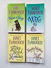 Janet Evanovich (4 Book Set) Hero At Large -- Wife for Hire --The Rocky Road to Romance -- Naughty Neighbor.