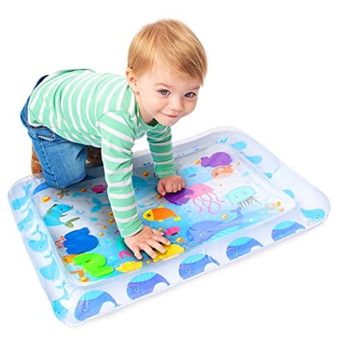 Funky Planet Tappetino gonfiabile per neonati e bambini Giocattoli sensoriali per centri di attività di sviluppo precoce per neonati