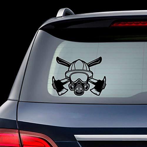 Csfssd Personalized car Stickers Car stickerbild reflektierende Auto Aufkleber feuerwehrhelm Aufkleber