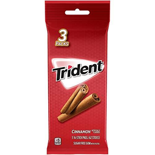 Trident Cinnamon Sugar Free Gum – 2.86oz