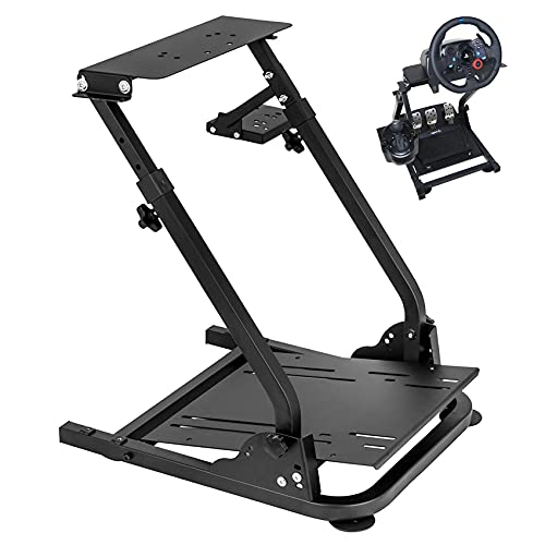 Racing Steering Wheel Stand for Logitech G920/G25/G27/G29 Wheel , Driving Gaming Simulator Racing Rig , Pedal & Shifters Not Included.