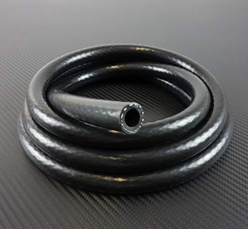 1m Silikonschlauch Vario schwarz Innendurchmesser 6mm*** Unterdruckschlauch Vakuumschlauch Kühlwasserschlauch
