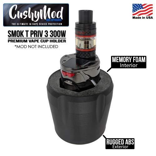 Smok T Priv 3 300W CUP HOLDER by CushyMod cover wrap skin sleeve case car mod vape kit
