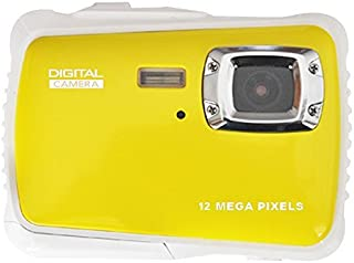 Digital Camera for Kids,12MP HD 720P Waterproof Sport Action Camera, Underwater Video Camera Camcorder with 2.0 inch LCD Display Screen for Snorkeling, Camping, Swimming, Diving and Beaching