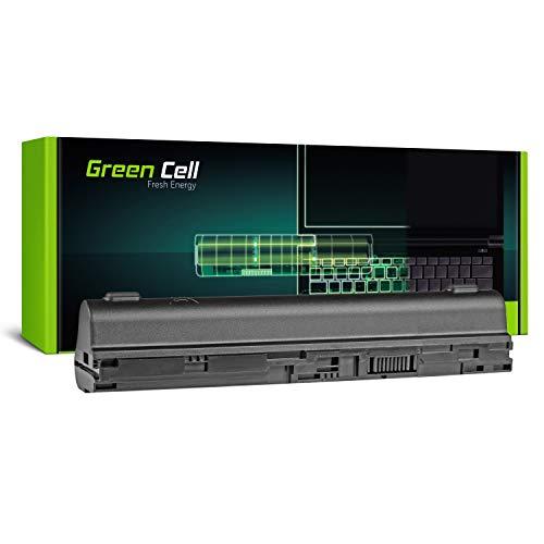 Green Cell® Serie Extended AL12B31 AL12B32 AL12B72 Batería para portátil Acer Aspire One 725 756 | Acer Aspire V5-121 V5-131 V5-171 (6 celdas, 4400 mAh, 11,1 V), color negro