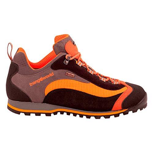 Trangoworld Shangu IP, Chaussures de Sport Mixte, Noir (Negro/Naranja 004), 43 EU