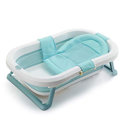 YUYAXBB opvouwbare multifunctionele badkuip, opvouwbaar, opvouwbaar, draagbaar douchestoel, babybadkuip, met afvoerpluggen, stabiel draagbaar, 80 x 50 x 20,5 cm