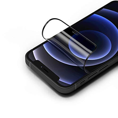 RhinoShield Protection écran 3D Impact Compatible avec [iPhone 12 Mini]   3X Plus de Protection Contre Les Chocs - Bords incurvés 3D pour Une Couverture complète - Résistance aux Rayures