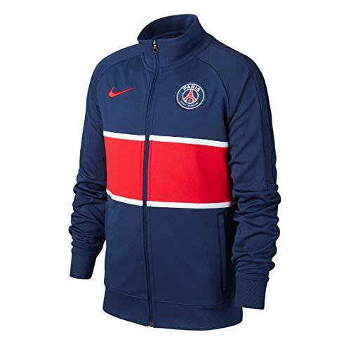 NIKE Paris Saint-Germain Temporada 2020/21-PSG Y NK I96 Anthem TRK JKTCI9281-410 Chaqueta, Niño, Midnight Navy/University Red/White/University Red no spon-Home, S
