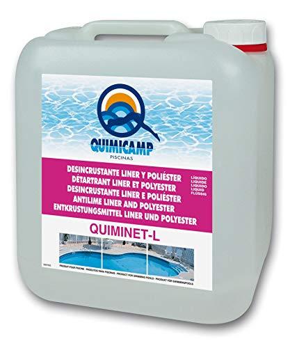 QUIMICAMP Quiminet 5 litros desincrustante Limpiador