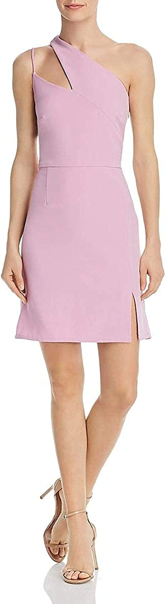 LAUNDRY BY SHELLI SEGAL Women's One Shoulder Cocktail Dress
