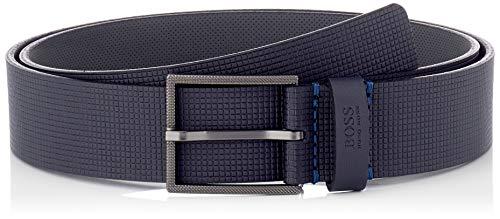 BOSS Tril-Sq_Sz35 Cintura, Dark Blue401, 90 Uomo